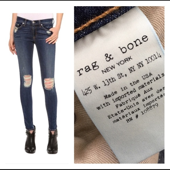 30ba0bca80f ... Distressed Denim Skinny Jeans. M 5ae64c2661ca10c8664021cb